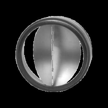 Zpětná klapka těsná s pérkem do potrubí Ø 80 mm / do potrubí