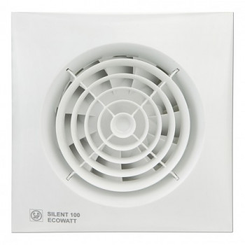 Tichý ventilátor Soler&Palau SILENT 100 ECOWATT CZ