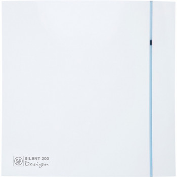 Tichý ventilátor Soler&Palau SILENT 200 DESIGN CHZ 3C tichý