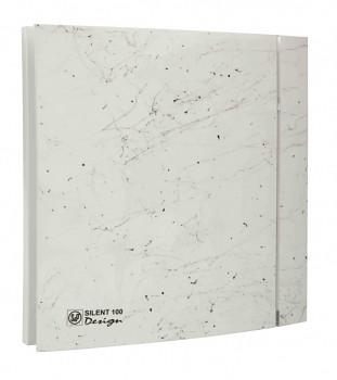 Tichý ventilátor Soler&Palau SILENT 100 DESIGN Marble White CZ 4C tichý