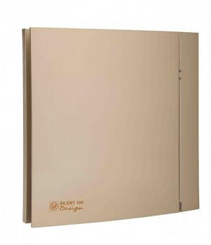 Tichý ventilátor Soler&Palau SILENT 100 DESIGN Champagne CRZ 4C tichý