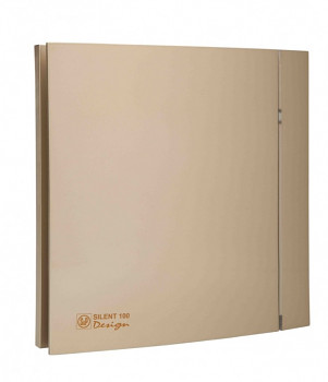 Tichý ventilátor Soler&Palau SILENT 100 DESIGN Champagne CZ 4C tichý