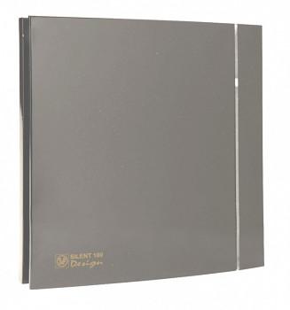 Tichý ventilátor Soler&Palau SILENT 100 DESIGN Grey CRZ 4C tichý
