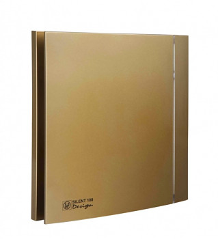 Tichý ventilátor Soler&Palau SILENT 100 DESIGN Gold CZ 4C tichý