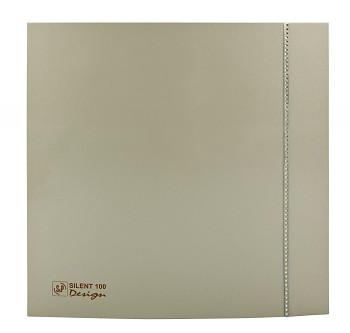 Tichý ventilátor Soler&Palau SILENT 100 DESIGN Swarovski Champagne CZ tichý