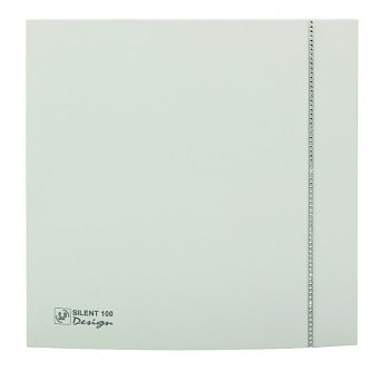 Tichý ventilátor Soler&Palau SILENT 100 DESIGN Swarovski White CZ tichý