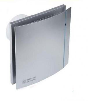 Tichý ventilátor Soler&Palau SILENT 100 DESIGN Silver CRZ 3C tichý