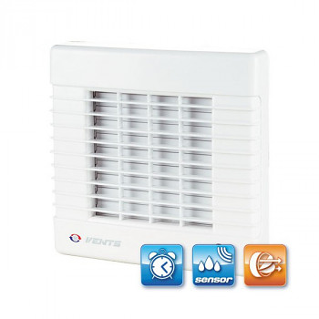 Koupelnový ventilátor Vents 150 MATH