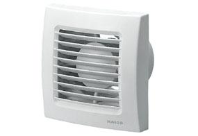 Koupelnový ventilátor Maico ECA 120 VZ (Zpožďovací časový spínač)