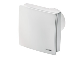 Tichý ventilátor do koupelny ECA 100 ipro H (Regulace vlhkosti)