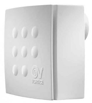 Radiální ventilátor do koupelny Vortice Quadro Micro 100 T ES