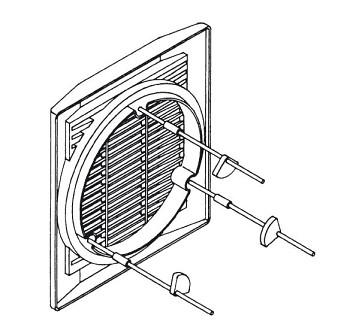 S&P Montážní sada k ventilátorům HV