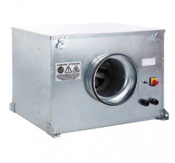 Potrubní radiální ventilátor S&P CAB 160 ECOWATT