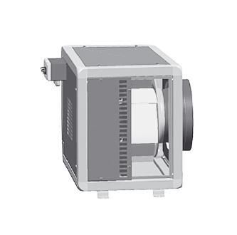 Potrubní radiální ventilátor S&P CHVB/4-6000/400
