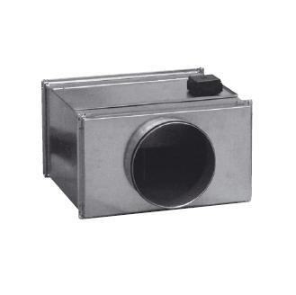 Potrubní radiální ventilátor S&P RMK 355