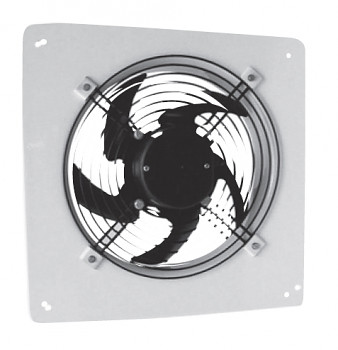 Nástěnný axiální ventilátor S&P HXTR/2-250