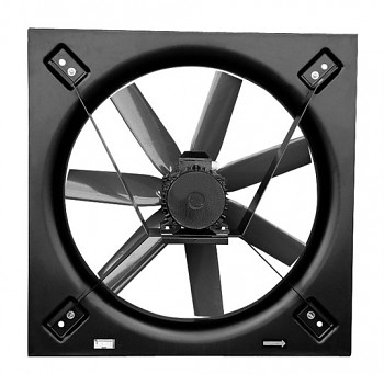 Nástěnný axiální ventilátor S&P HCBT/8-900 L-X