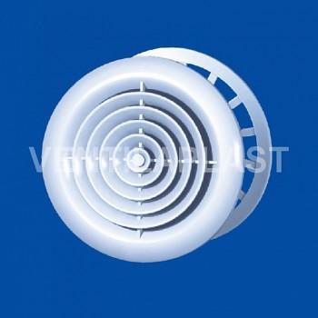 Plastový stropní difuzor VP MV 125 PFs