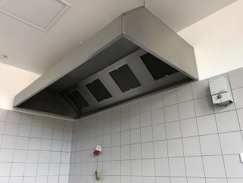 Gastro digestoř nástěnná box <br> šířka 3600mm