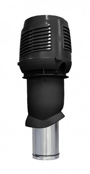 Nasávací potrubí pro rekuperaci 160P/IS/500, černá RAL 9005
